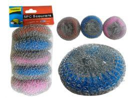 96 Units of 5pc Scourer Balls - Scouring Pads & Sponges