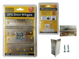 96 Units of 2pc Door Hinges - Home Accessories