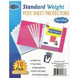 "100 Bulk Sheet Protectors - 10 Ct - 9"" X 11"""