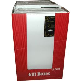"""30 Units of Gift Boxes - 3 Pack - Medium Size - 9.5"""" X 14"""" - Boxes & Packing Supplies"""