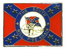 """96 Units of Brass Hat Pin, """"the South Will Rise Again - Hat Pins & Jacket Pins"""