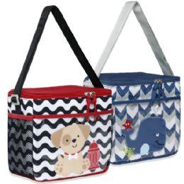 48 Wholesale Character Diaper Bag - Boys