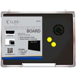 "36 Bulk Black Dry Erase Board - 8.5"" X 11"""