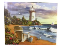 12 Units of Beach Canvas Picture - Wall Decor