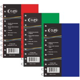 48 Bulk Poly Notebook - Assorted Colors