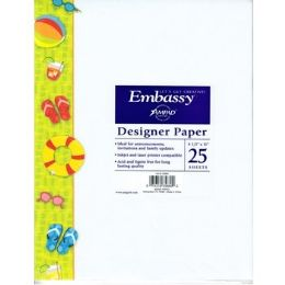 36 Units of Summer Fun Themed Printed Paper - Paper