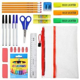 48 Bulk 36 Piece Kids School Supply Kits