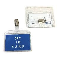 """72 Units of 3.6""""x2.75"""" CliP-On Id Holder - ID Holders"""