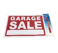 "72 Bulk 11.8""x7.9"" Sign [garage Sale]"