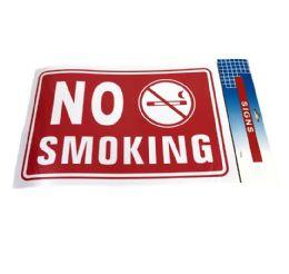 """72 Bulk 11.8""""x7.9"""" Sign [no Smoking]"""