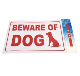 "72 Bulk 11.8""x7.9"" Sign [beware Of Dog]"