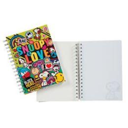 24 Bulk Peanuts Spiral Journal W/ Small Die Cut Notepad