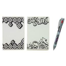 12 Bulk Uv Magic Notebook With 4 Color Uv Pen