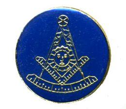 96 Wholesale Brass Hat Pin, Masonic, Past Master, Minimum 1 Dozen. Masonic Lapel Pin