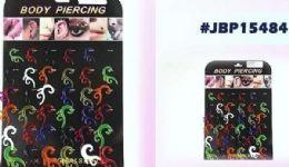36 Wholesale Wholesale Bodyjewelry/ Body Piercing Plastic