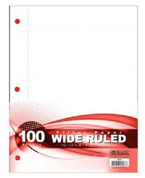 48 Bulk 100 Sheet Wide Rule Filler Paper