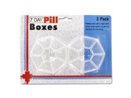 72 Units of 7-Day Pill Box Set - Pill Boxes and Accesories