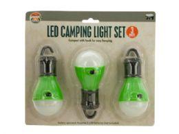 12 Wholesale Led Hanging Camping Light Set