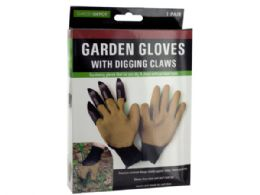 18 Units of Garden Gloves With Digging Claws - Garden Tools