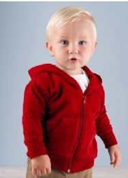 12 Wholesale Infant Zipper Hoodie For 12 Months