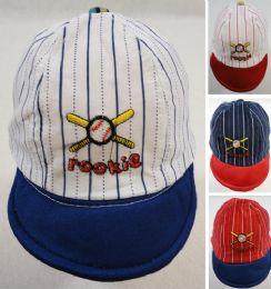 60 Wholesale Infant Pinstripe Baseball Hat Rookie