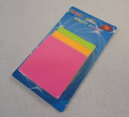 60 Units of Glow In The Dark Sticky Notes - Memo Holders and Magnets