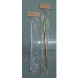 48 Units of Curtain Rod 28x48 - Window Curtains