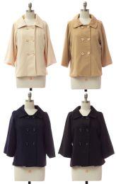 24 Units of Women's Double Breasted Blazer Jacket - Women's Winter Jackets