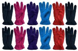 60 Bulk Yacht & Smith Women's Fleece Gloves