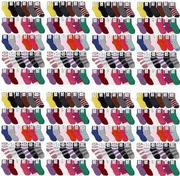 120 Units of Yacht & Smith Women's Solid Colored Fuzzy Socks Assorted Colors, Size 9-11 - Womens Fuzzy Socks