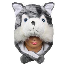 36 Units of Winter Animal Hat Fox - Winter Animal Hats