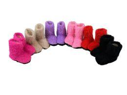 36 Units of Girls Slipper Boots - Girls Slippers