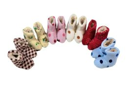 36 of Girls Slipper Boots Multicolored