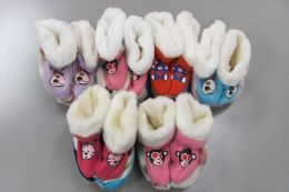 60 of Girls Slipper Boots With Animal Design