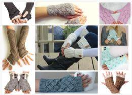 240 Units of Mix & Match Fingerless Gloves - Arm & Leg Warmers