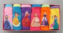 120 Units of Girls Cotton Panty - Girls Underwear and Pajamas