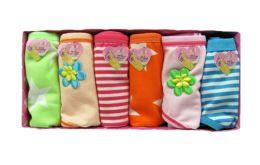 72 Units of Girls Cotton Panty - Girls Underwear and Pajamas