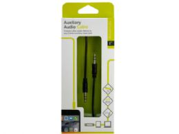 72 of Iessentials Black Auxiliary Audio Cable