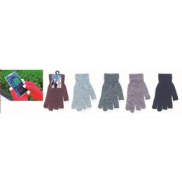 72 Units of Unisex Texting Gloves In Assorted Colors - Conductive Texting Gloves