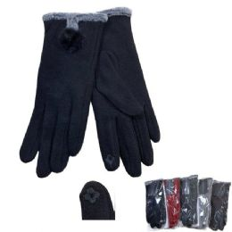 48 of Women's PlusH-Lined Touch Screen Gloves