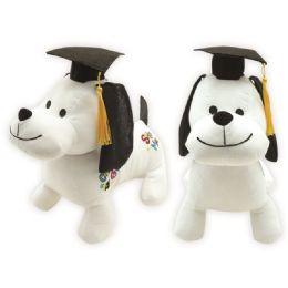 24 Units of Twelve Inch Graduation Autograph Dog - Graduation