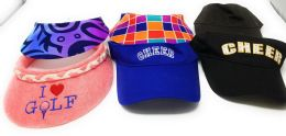 72 Wholesale Sun Visor Hats