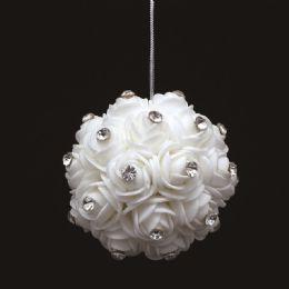 60 Units of Foam Flower With Diamond - Wedding & Anniversary