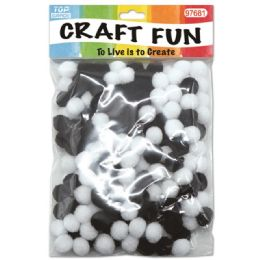 144 of Two Hundred Count Pom Pom Black And White