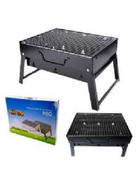 12 Units of Portable Grill Black Small - BBQ supplies