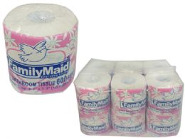 48 Units of Toilet Paper 500 Sheet 2-Ply - Bathroom Accessories