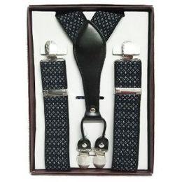 36 of Pattern Suspenders Black & White