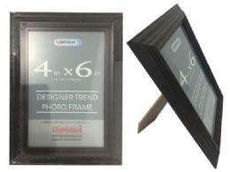24 Bulk Brown Desinger Trend Photo Frame 4x6