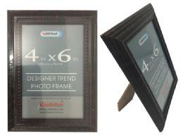 48 Units of Dark Brown Desinger Trend Photo Frame 4x6 - Picture Frames