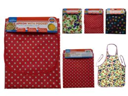 144 Units of Apron With Pocket - Kitchen Aprons